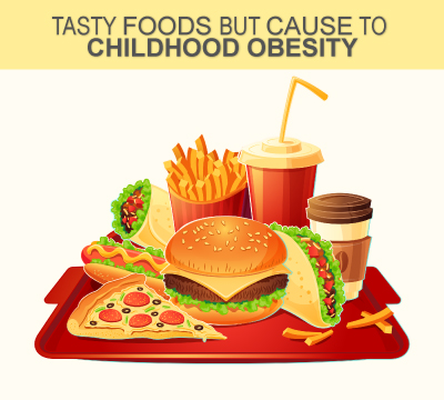 Tasty Foods But Cause To Childhood Obesity