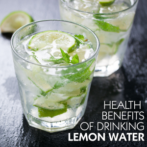 Some Wonderful Health Benefits of Drinking Lemon Water For