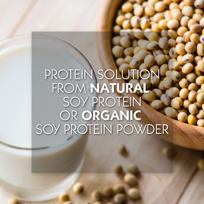 Soy Protein and Organic Protein Powder
