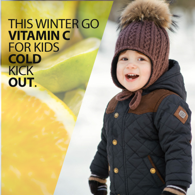 This Winter Go Vitamin C For Kids Cold Kick Out