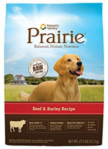 Nature's Variety Prairie Beef & Barley Recipe Dry Dog Food