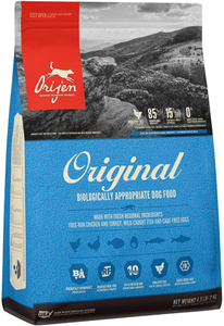 ORIJEN High-Protein, Grain-Free, Premium Animal Ingredient, Dry Dog Food