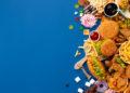 Popular Restaurants Fast Food Dish Concept